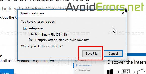 Install-Windows-10-IoT-Core-on-Raspberry-Pi-3-5 - AvoidErrors