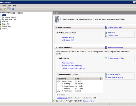 Disable Remote Login – Server 2008 Datacenter