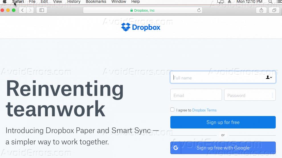 Dropbox Download Mac Os Sierra BEST drop-box-website