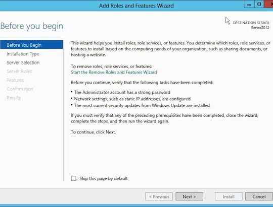 Hot to Install the DNS Server Role on Windows Server 2012