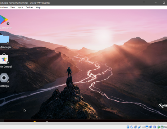 How to Install and Configure Remix OS on VirtualBox