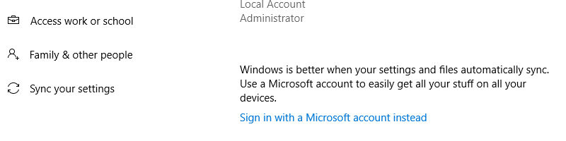 windows 7 user accounts not showing up