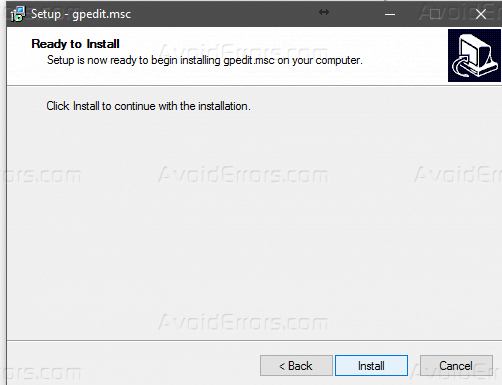 Enable Group Policy (gpedit msc) on Windows 10 Home Edition