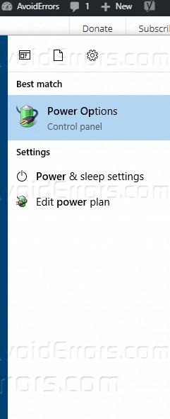 how to add hibernate to windows 10