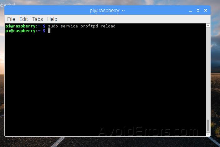 FTP reload