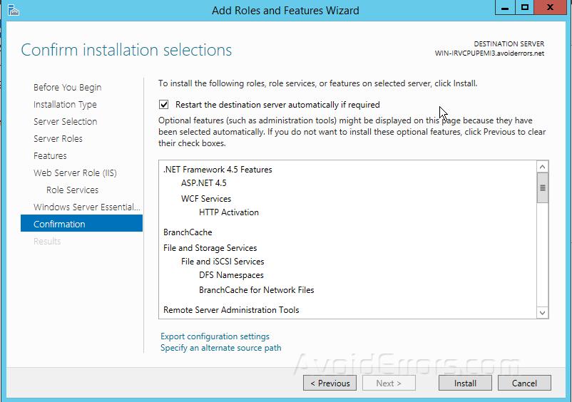 How to Install Windows Server Essentials Dashboard Role