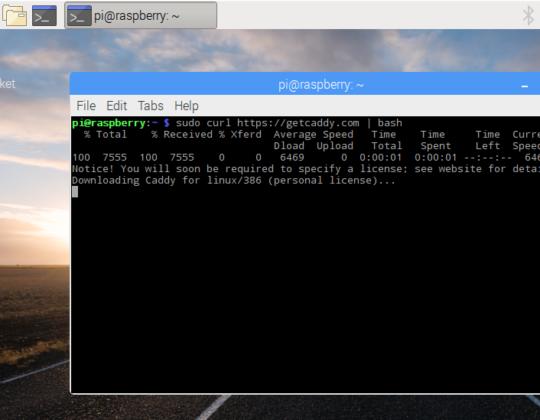 How to Setup a Raspberry Pi Caddy Web Server