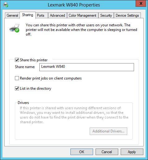 How to share printers via Group Policy (GPO) - AvoidErrors