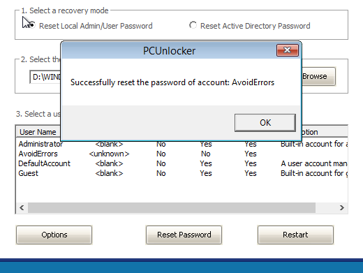 pcunlocker enterprise iso
