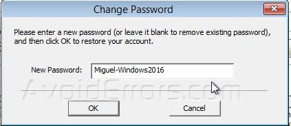 Reset Forgotten Windows Server 2016 admin password - PCunlocker
