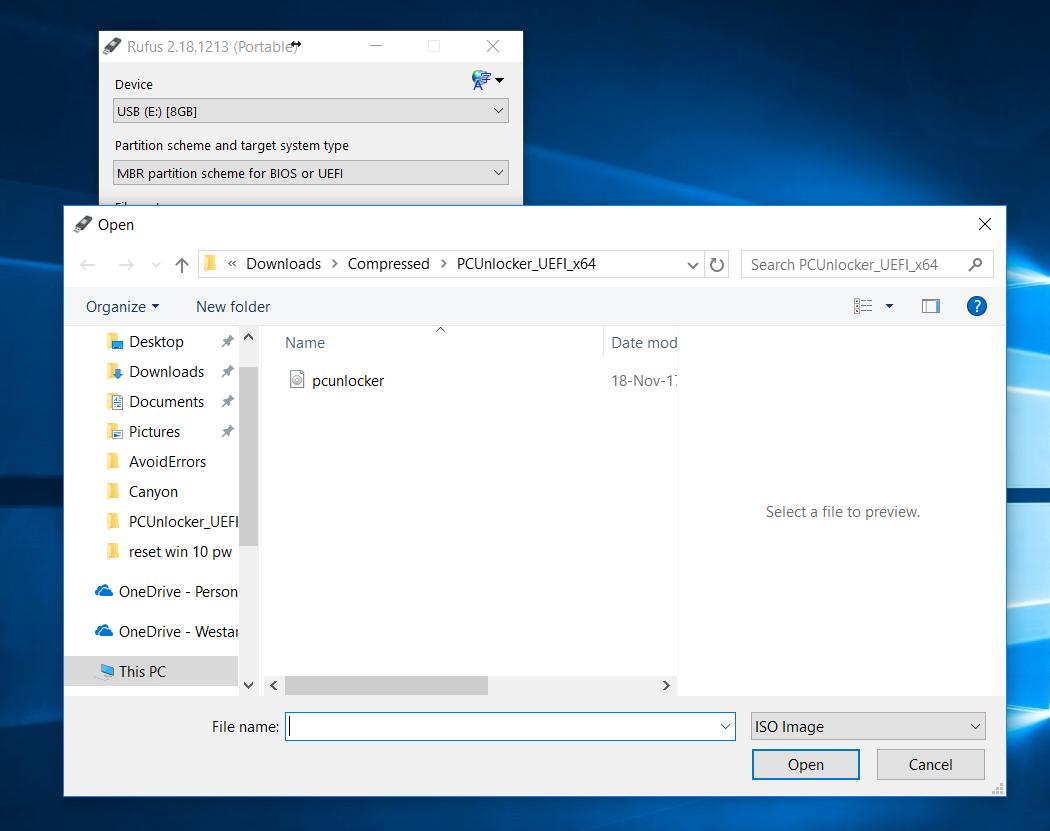 Pcunlocker iso for windows 10 | Reset or Bypass Windows 10