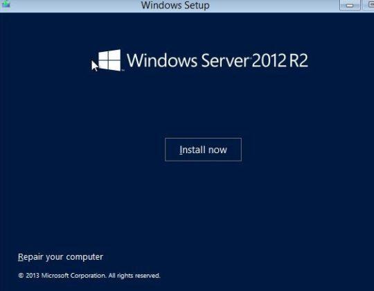 Recover Administrator Password on Windows Server 2012