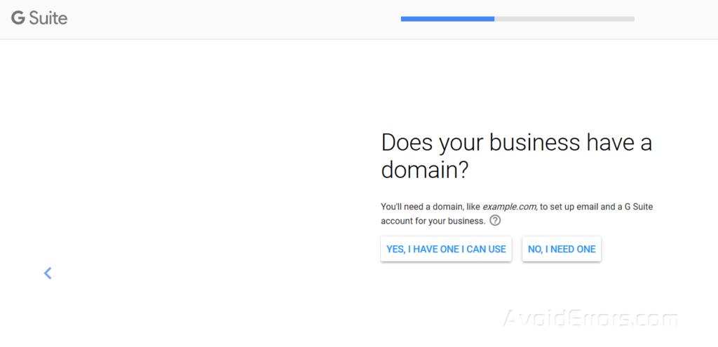 add domain 1