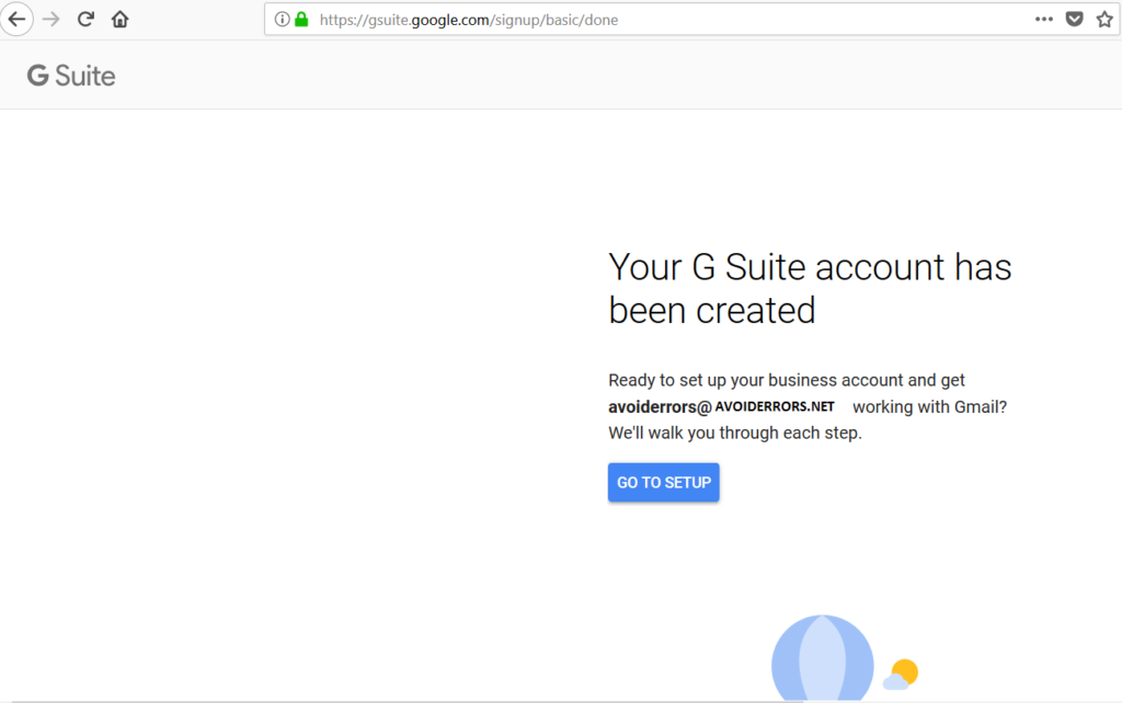 how to get to admin for g suite