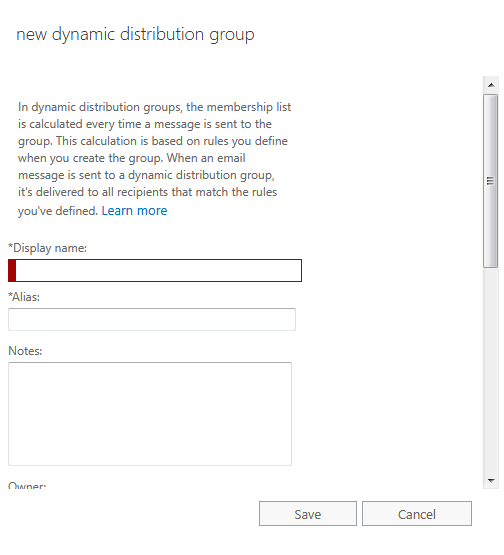 How to Create Dynamic Distribution Group In Office 365 - AvoidErrors