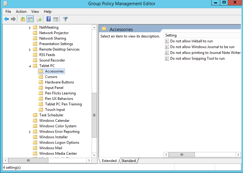 How to Disable Snipping Tool in Windows 10 Through Group