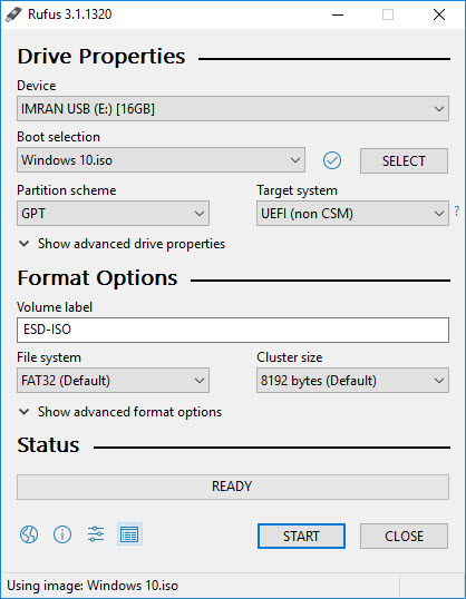How to Create a Windows 10 Bootable USB from an ISO