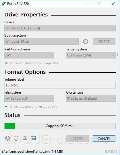 windows 10 iso usb uefi