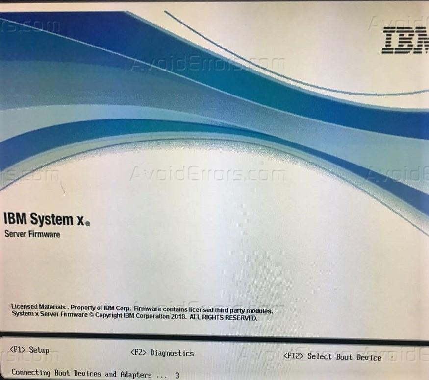Cách Cài Windows Server Bằng USB Trên IBM SYSTEM X