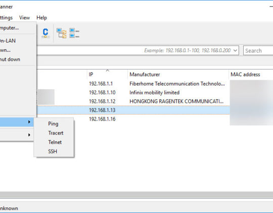 How to Use Advance IP Scanner for Network Management