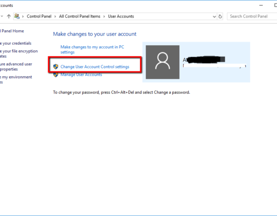 How To Turn Off UAC (User Account Control) in Windows 10