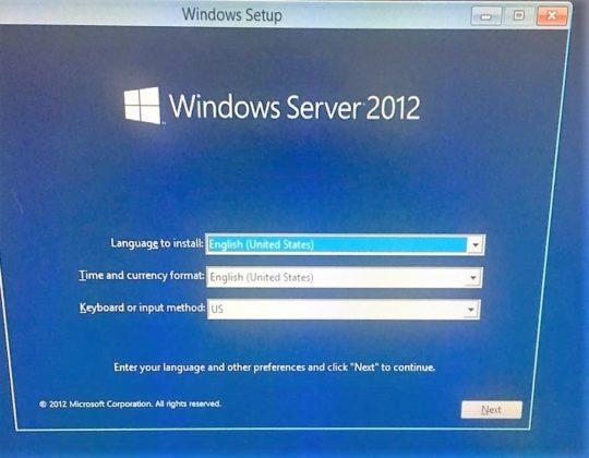 Intall Windows (Standard R2 Version) Through an External Device (USB/CD ROM) on IBM Server