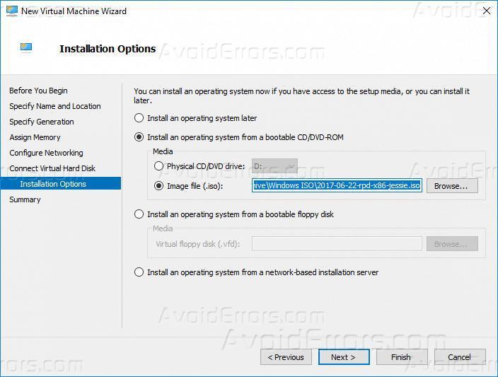 How to Install Raspbian OS on Hyper-V - AvoidErrors