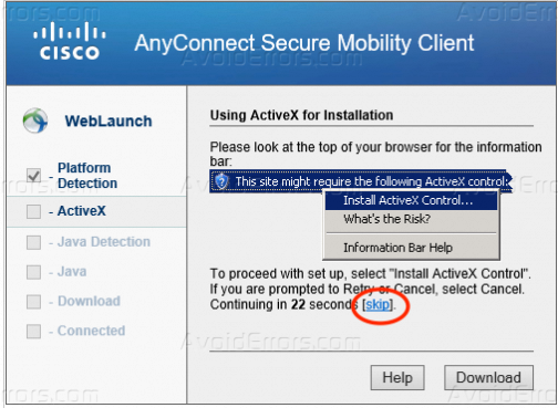 How to Setup Cisco AnyConnect on Windows 7/8 - AvoidErrors