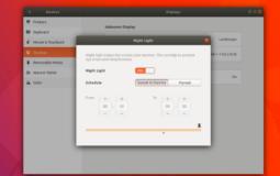 """Turn ON """"Night Light"""" on Ubuntu 17.10"""