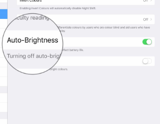 How to Disable or Enable Auto Brightness in iOS 11 for iPad and iPhone