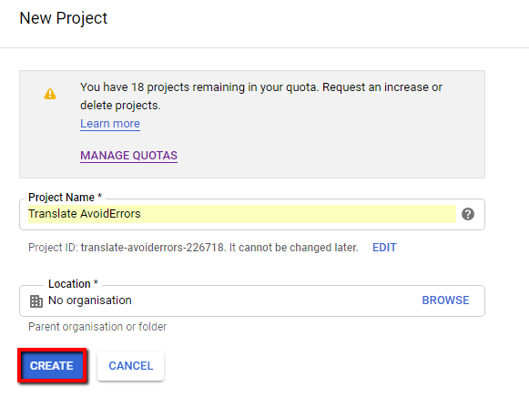 Generate any Google API Key to Integrate with WordPress