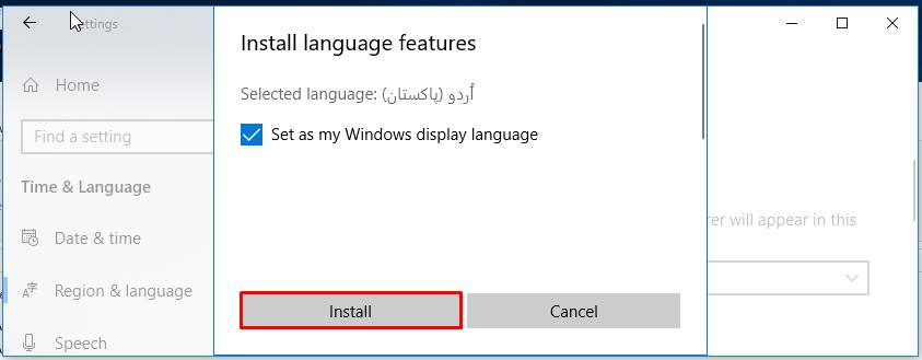 Change Operating System Language across your whole Windows
