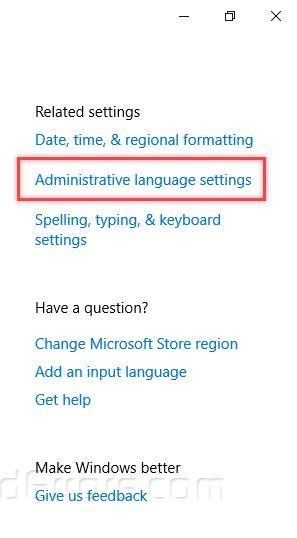 Change Operating System Language across your whole Windows
