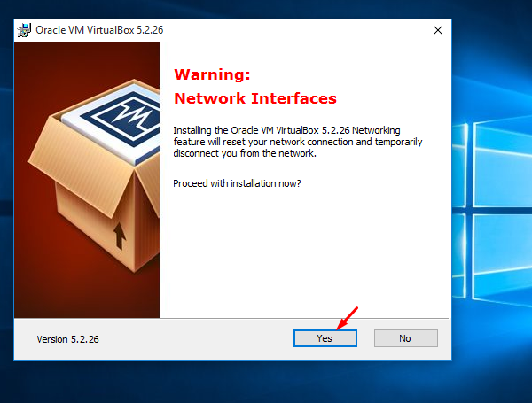 virtual box install 3