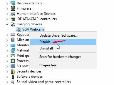 How To Enable Disable Camera Or Webcam Windows 10 Avoiderrors