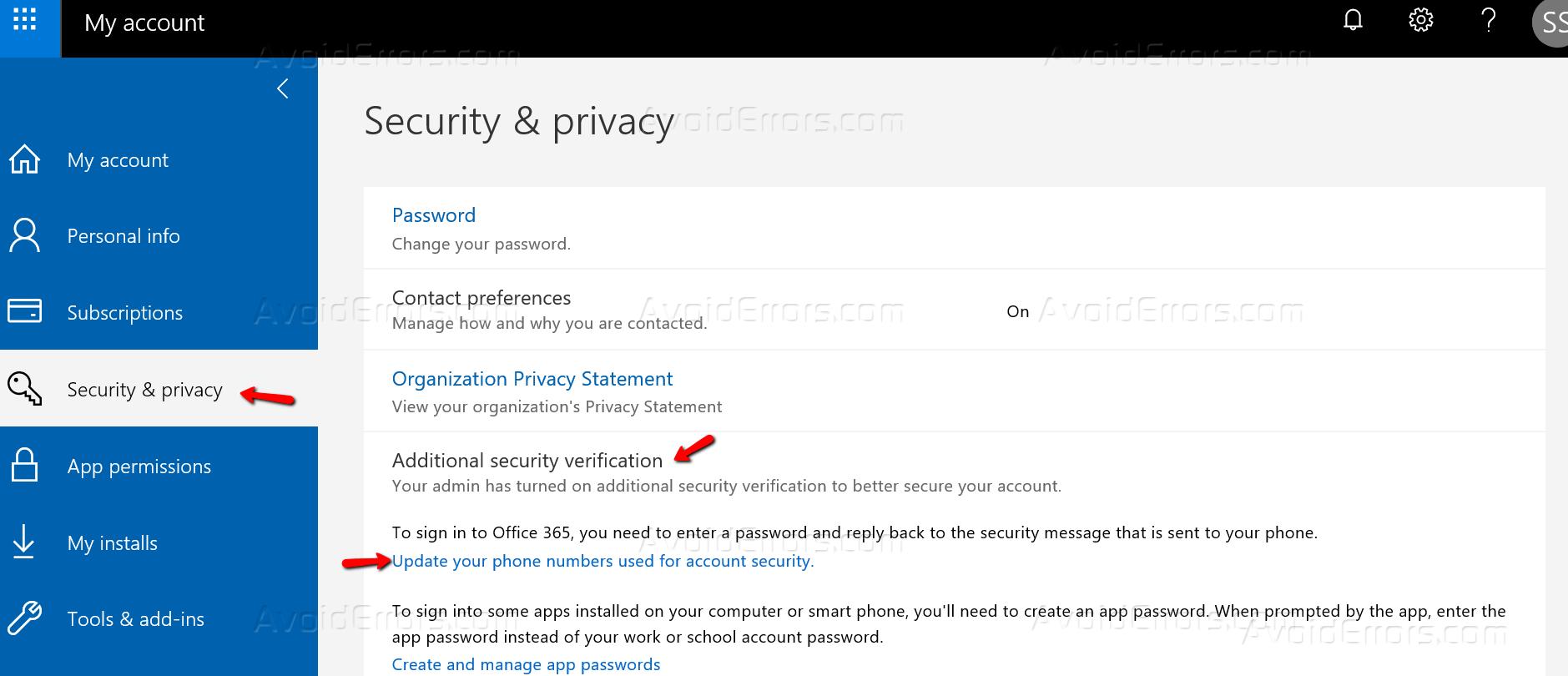 What is Microsoft Authenticator App - AvoidErrors