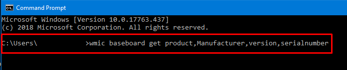 How to Find Motherboard Serial Number - Windows 10 - AvoidErrors