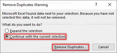 Hướng Dẫn Xóa Duplicate Values Trong Microsoft Excel 2016