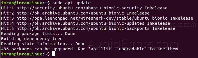 How to Install Wireshark on your Ubuntu Machine - AvoidErrors