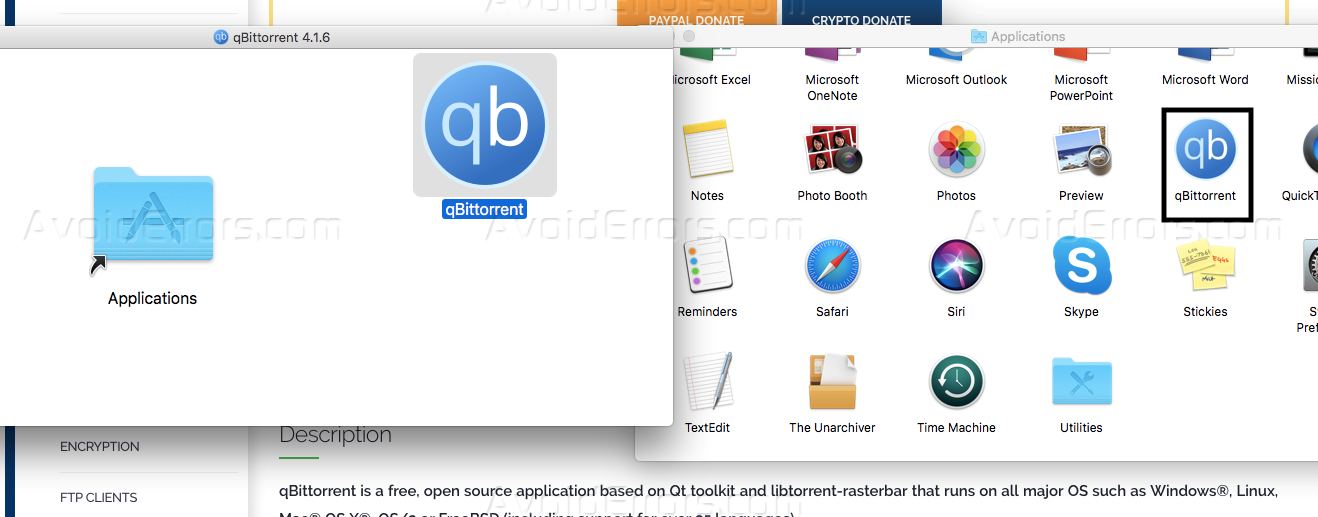 How to Torrent Using qBittorrent in Mac Os - AvoidErrors