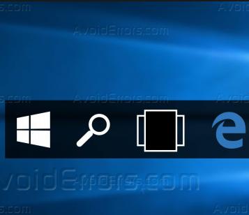 How to Show Taskbar in Full Screen Mode in Windows 10