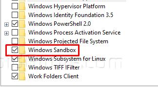 Bật mí cách bật Sandbox trong Windows 10 nhanh