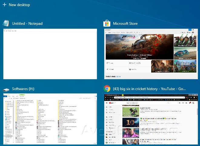 Cách xóa Windows khỏi Chế độ xem tác vụ trong Windows 10