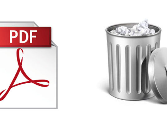 How to Delete Pages from PDF File