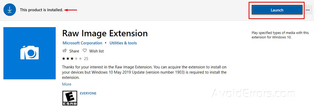 Cách Mở File Ảnh RAW Trong Windows 10