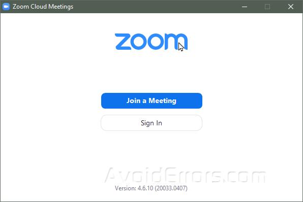 CÀi đặt Zoom trên Windows 10