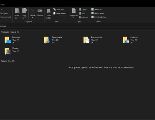 Enable dark mode in Windows 10, Microsoft Edge and Office