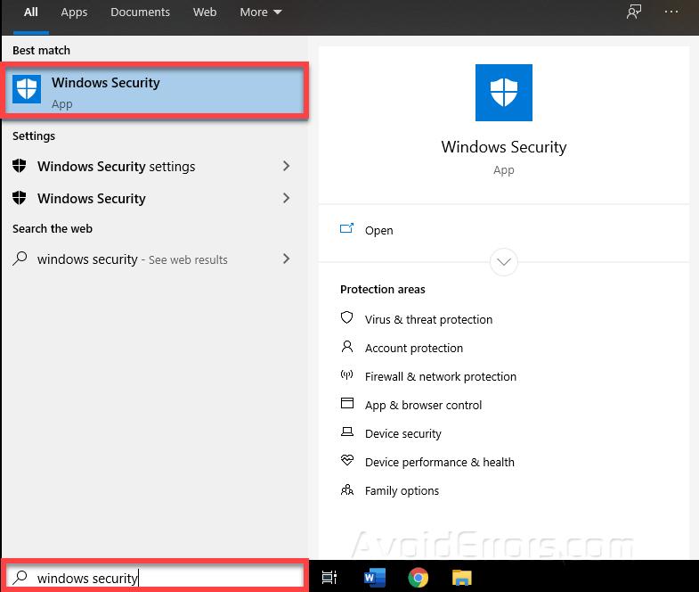 Cách thêm Loại trừ trong Windows Defender Win 10