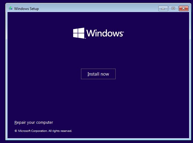 install windows 11 oracle virtualbo 12