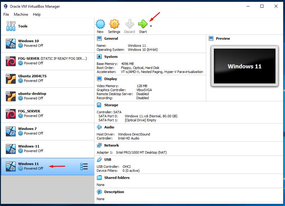 install windows 11 oracle virtualbo 7